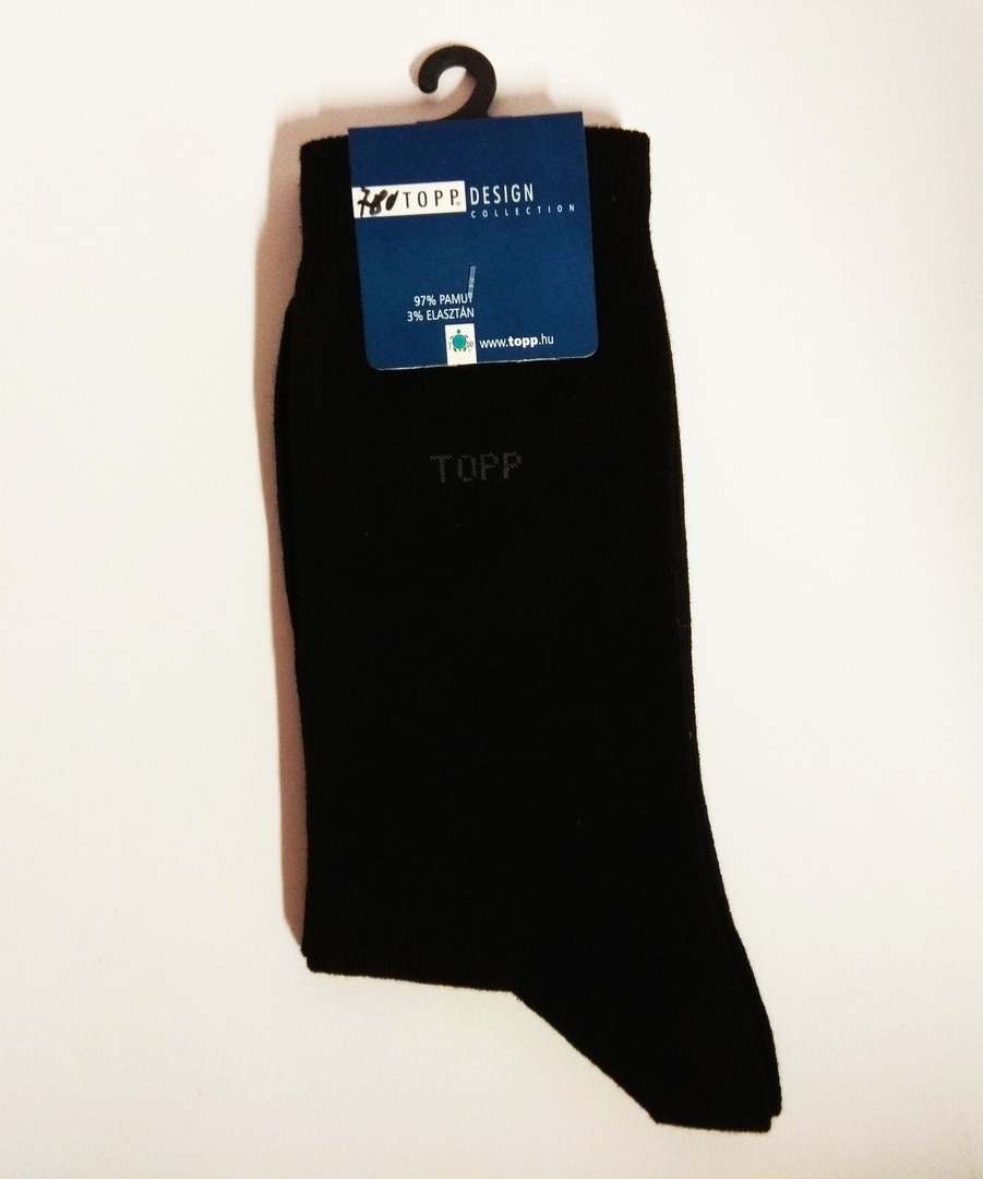 Topp pamut zokni