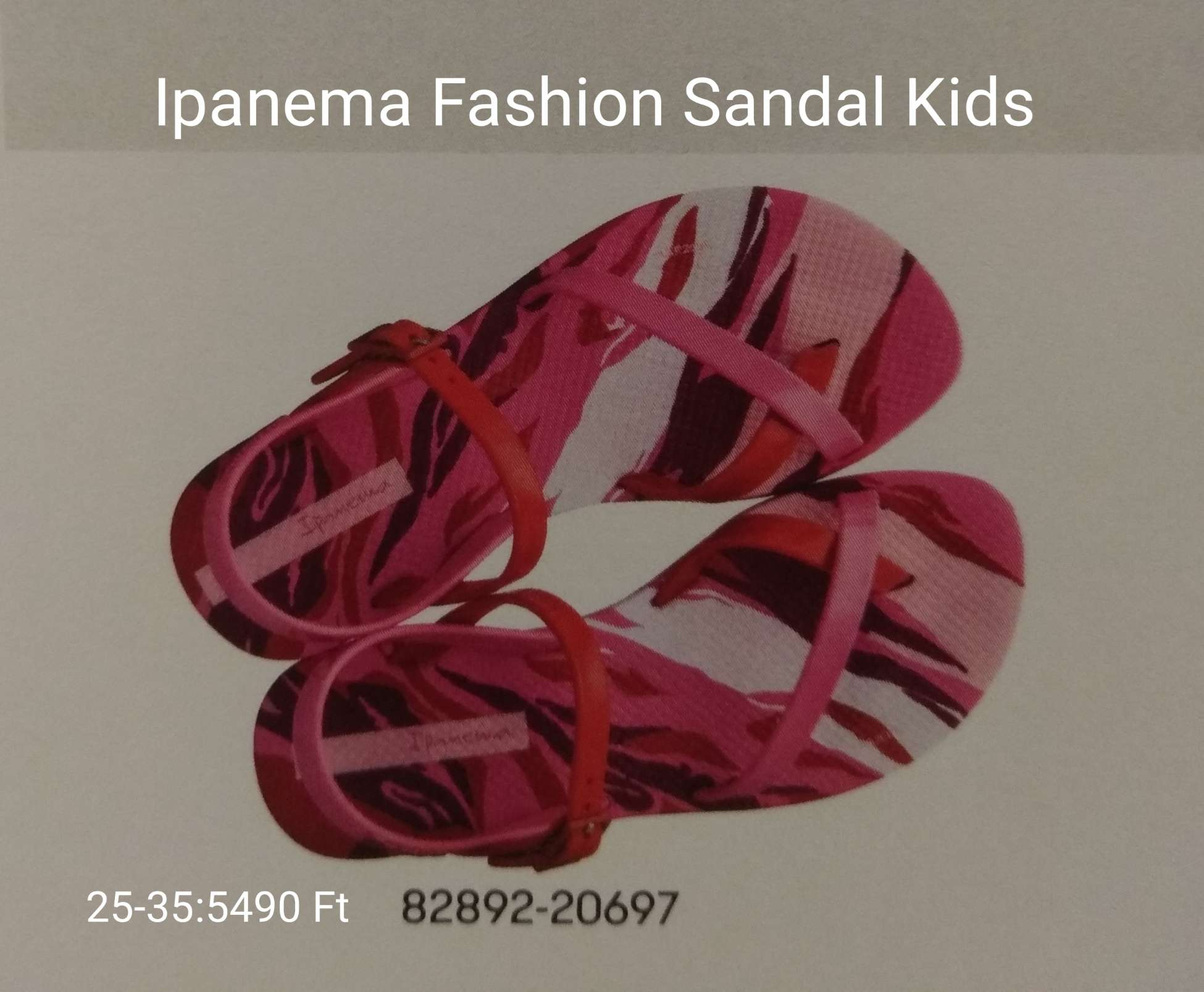 Ipanema Szandál Kids
