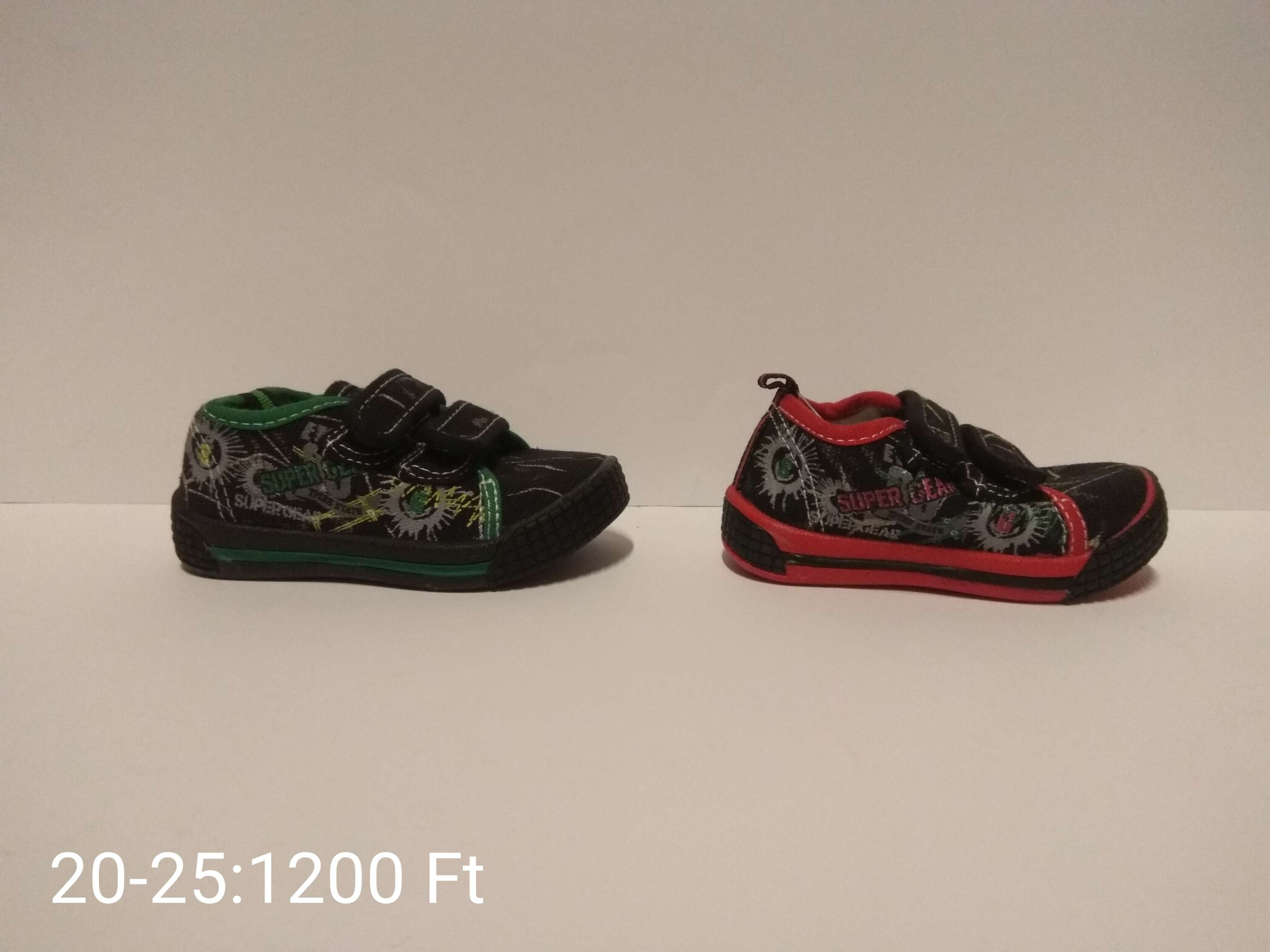 Gyermek vászon cipő
